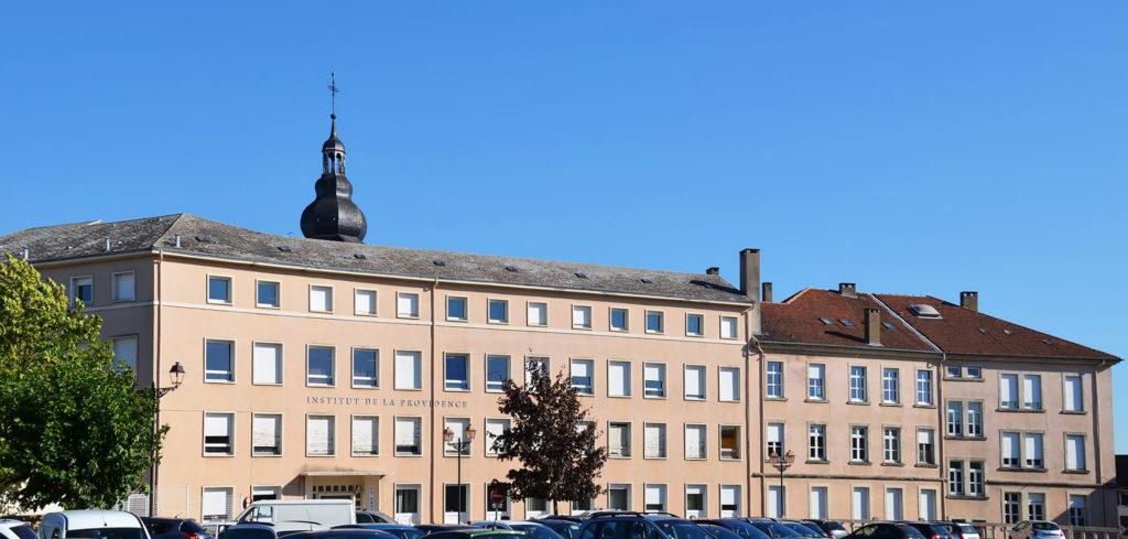 Façade du collège de Bouzonville
